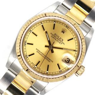 ロレックス(ROLEX)のロレックス ROLEX デイトジャスト 腕時計 レディース【中古】(腕時計(アナログ))