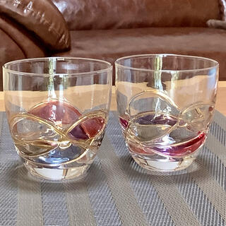 未使用⭐️ステンドグラス風の素敵なベアグラス