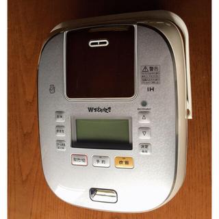 パナソニック(Panasonic)のパナソニック 炊飯器 1升 可変圧力IH式 Wおどり炊き ホワイト(炊飯器)