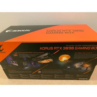 AORUS RTX3090 gamingbox 外付け eGPU 水冷