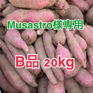鹿児島県産 べにはるか 紅はるか 20kg B品 サツマイモ さつまいも(野菜)