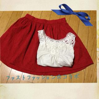 フォーエバートゥエンティーワン(FOREVER 21)のForever21&g.u☆送料込み(ミニスカート)