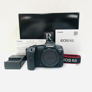 Canon - 【極美品】CANON EOS R5 ボディ ミラーレス一眼 カメラ フルサイズ