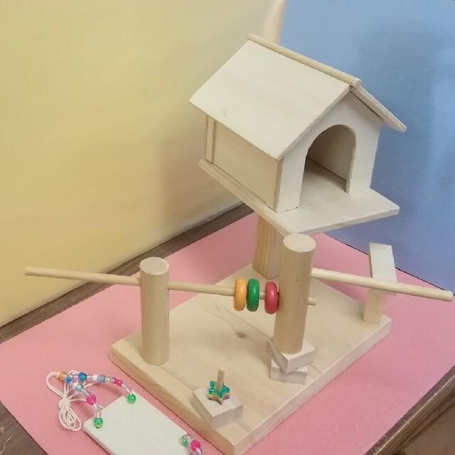 小鳥のアスレチック(小型) その他のペット用品(鳥)の商品写真