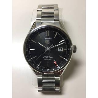 タグホイヤー(TAG Heuer)のホイヤー カレラ キャリバー7 ツインタイム 自動巻 シースルーバック(腕時計(アナログ))
