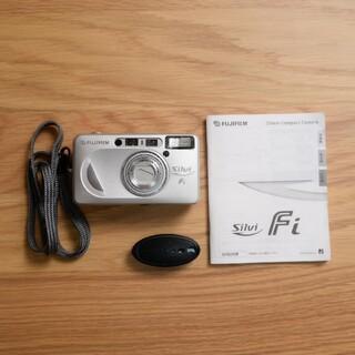 フジフイルム(富士フイルム)の電池説明書付 完動品 FUJIFILM silvi Fi フィルムカメラ(フィルムカメラ)