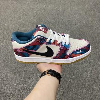 """ナイキ(NIKE)のParra X Nike SB Dunk Low """"Abstract Art"""" (スニーカー)"""