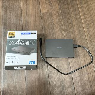 ELECOM - エレコム 外付け SSD 1TB ESD-EJ1000GKB