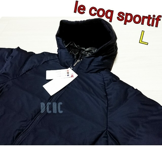 le coq sportif - 【L】【ネイビー】ルコック 中綿ジャケット ゴルフウェア レディース
