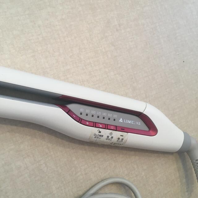 Lumiere Blanc(リュミエールブラン)のリュミエリーナ ヘアビューロン ストレート スマホ/家電/カメラの美容/健康(ヘアアイロン)の商品写真