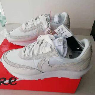 27.5 Nike x sacai LDV Waffle ホワイト(スニーカー)