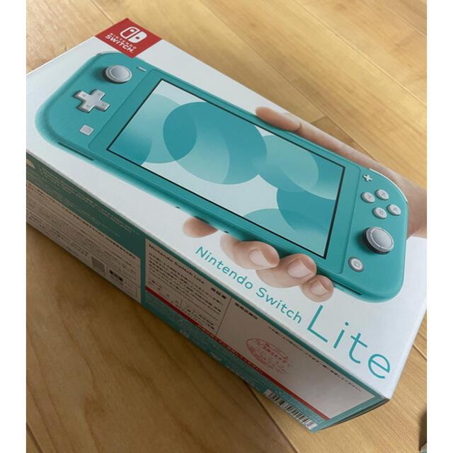 任天堂(ニンテンドウ)のジャイアントAKB 様専用Nintendo Switchライト エンタメ/ホビーのゲームソフト/ゲーム機本体(家庭用ゲーム機本体)の商品写真