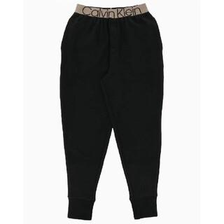 カルバンクライン(Calvin Klein)のカルバンクライン 新品 メンズ ジョガーパンツ(ゴールド/ブラックS)(その他)