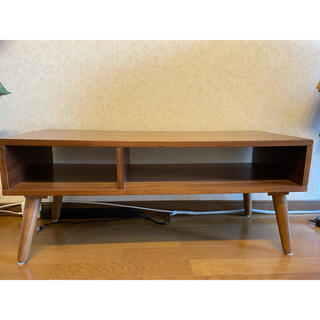 エムール TVボード ローボード サイズ幅90×奥行35×38cm ブラウン
