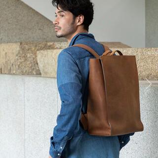 土屋鞄製造所 - 定価11.6万円 土屋鞄 オリジンオイルヌメ バックパック ブラウン