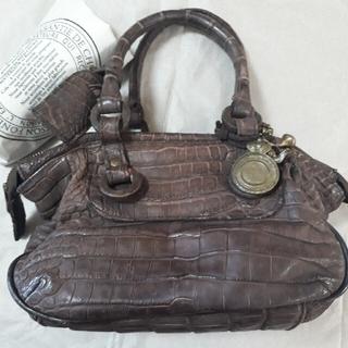 クリスチャンポー(CHRISTIAN PEAU)のクリスチャンポークロコダイルミニボストン(ハンドバッグ)