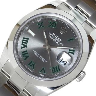 ROLEX - ロレックス ROLEX デイトジャスト41 腕時計 メンズ【中古】