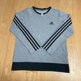 adidas - adidas 男児150 長袖Tシャツ グレー
