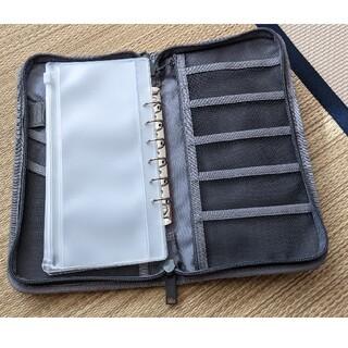 MUJI (無印良品) - 無印良品☆ポリエステルパスポートケース・クリアポケット3枚付
