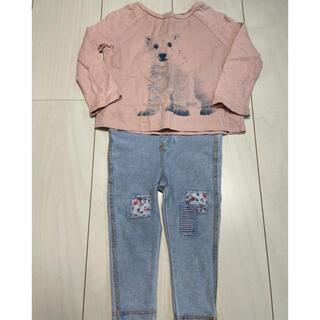 ベビーギャップ(babyGAP)のセットアップ 春秋コーデ 70〜80cm(Tシャツ)