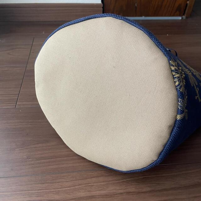 mina perhonen(ミナペルホネン)のミナペルホネン ハンドメイド 丸底リボンバッグ ハンドメイドのファッション小物(バッグ)の商品写真