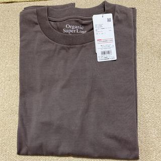 ナノユニバース(nano・universe)のナノユニバ-スメンズ オーガニック超長綿BIG Tシャツ(Tシャツ/カットソー(七分/長袖))