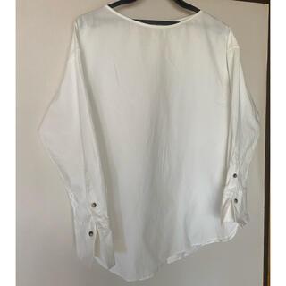 ニジュウサンク(23区)の23区 バックボタンシャツ(シャツ/ブラウス(長袖/七分))