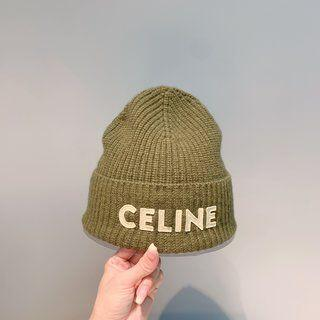 セリーヌ(celine)のCelineセリーヌのヘアライン帽(ニット帽/ビーニー)