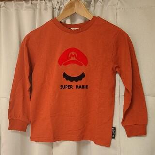 バンダイ(BANDAI)のスーパーマリオ ロンT(Tシャツ/カットソー)
