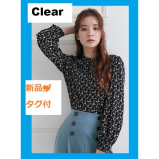 クリア(clear)の新品🌼クラッシックなプチハイネックブラウス(シャツ/ブラウス(長袖/七分))