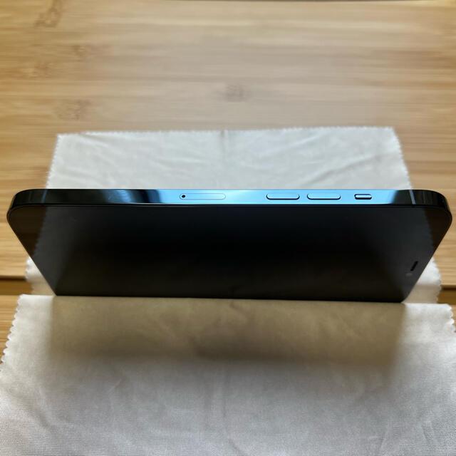 Apple(アップル)の【オマケ付】iPhone12 ProMax SIMフリー 256GB ブルー スマホ/家電/カメラのスマートフォン/携帯電話(スマートフォン本体)の商品写真