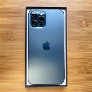Apple - 【オマケ付】iPhone12 ProMax SIMフリー 256GB ブルー