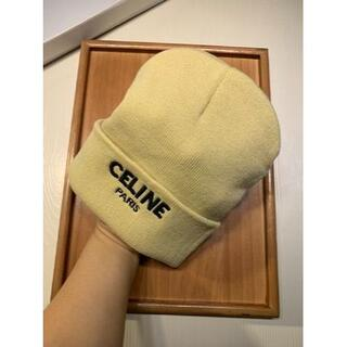 セリーヌ(celine)の早い者勝ちCelineセリーヌのヘアライン帽(ニット帽/ビーニー)