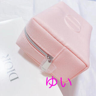 ディオール(Dior)のディオールポーチノベルティピンクポーチ新品未使用非売品限定品オファーDior(ポーチ)