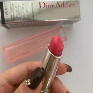 ディオール(Dior)のディオールアディクト リップグロウ 007ラスベリー 箱付き(リップケア/リップクリーム)