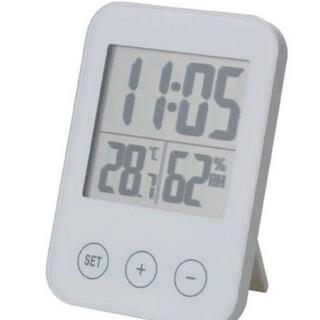 IKEA - [新品] イケア スロッティス 湿度計 温度計 置時計 置き時計 掛け時計 時計