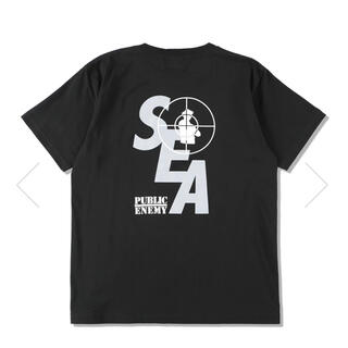 SEA - wind and sea PUBLIC ENEMY XL tシャツ