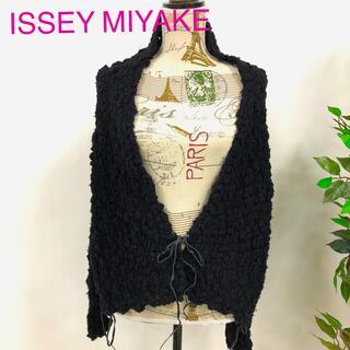 イッセイミヤケ(ISSEY MIYAKE)のISSEY MIYAKE イッセイミヤケ ボレロカーディガン 3349(カーディガン)