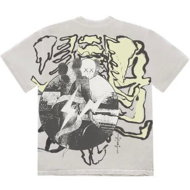 FRAGMENT(フラグメント)のtravis scott  KAWS fragment tシャツ 2XL メンズのトップス(Tシャツ/カットソー(半袖/袖なし))の商品写真