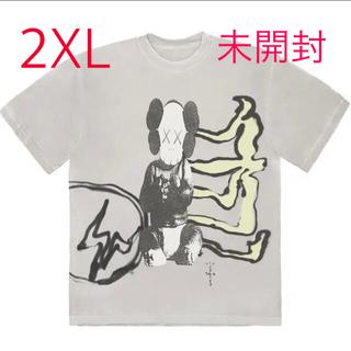 CACTUS - travis scott  KAWS fragment tシャツ 2XL