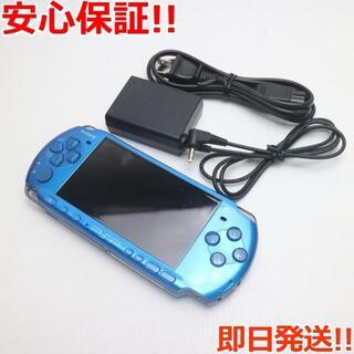 ソニー(SONY)の超美品 PSP-3000 バイブラント・ブルー (携帯用ゲーム機本体)