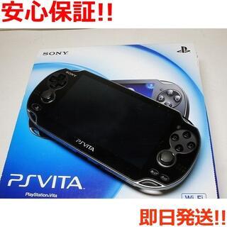 ソニー(SONY)の新品 PCH-1000 PS VITA ブラック (携帯用ゲーム機本体)