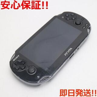 ソニー(SONY)の良品中古 PCH-1100 PS VITA ブラック (携帯用ゲーム機本体)