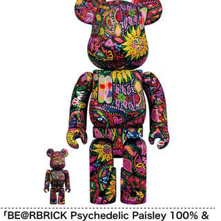 メディコムトイ(MEDICOM TOY)のBE@RBRICK Psychedelic Paisley 100% & 400(フィギュア)