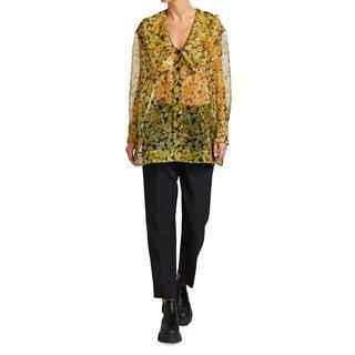 ルシェルブルー(LE CIEL BLEU)のGANNI Organza Floral Blouse(シャツ/ブラウス(半袖/袖なし))