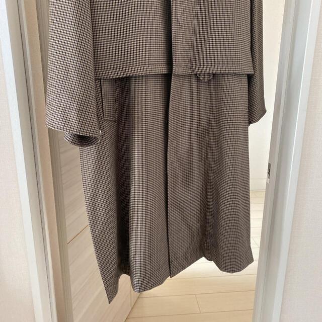 COMOLI(コモリ)のyoke 19aw 3way コート チェック メンズのジャケット/アウター(ステンカラーコート)の商品写真