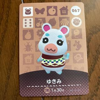 Nintendo Switch - どうぶつの森 ゆきみ amiiboカード
