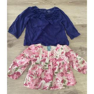 ベビーギャップ(babyGAP)の【70cm】女の子用トップス 秋服 ロンT 長袖 BabyGAP(Tシャツ)