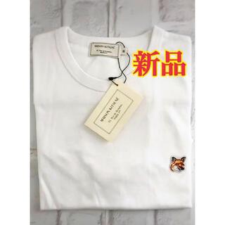 メゾンキツネ(MAISON KITSUNE')の【新品】メゾンキツネ 半袖Tシャツ メンズ レディース XS S M L 韓国(Tシャツ/カットソー(半袖/袖なし))
