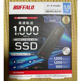 Buffalo - バッファロー SSD-PH1.0U3-BC